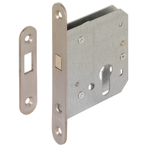 Hafele 911.26.330 Mortise lock for sliding doors with compass bolt