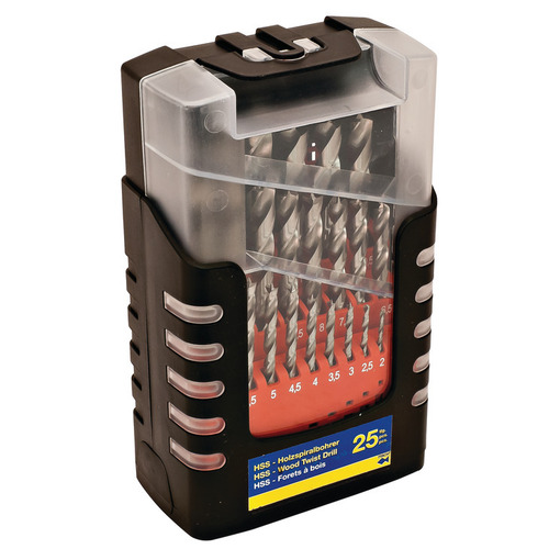 Hafele 001.04.181 Twist Drill Bit Set