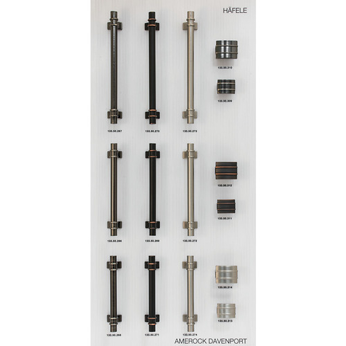 Hafele 732.05.116 Decorative Hardware Display Board