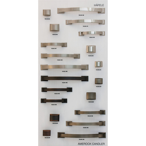Hafele 732.05.117 Decorative Hardware Display Board