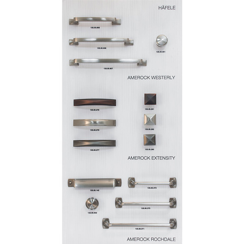 Hafele 732.05.128 Decorative Hardware Display Board