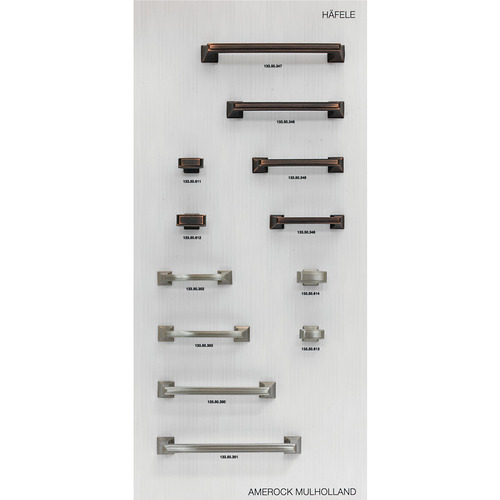 Hafele 732.05.121 Decorative Hardware Display Board