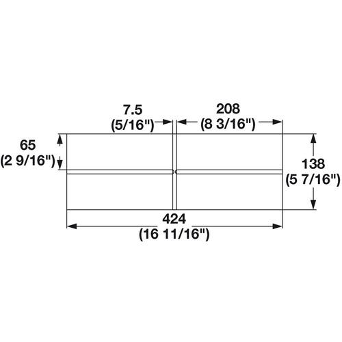 Hafele 556.87.398 Cross Divider
